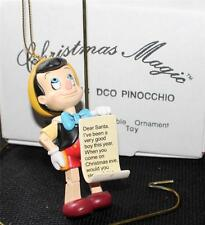 New Box DISNEY Movie Characters GROLIER Christmas Magic PINOCCHIO Ornament #116