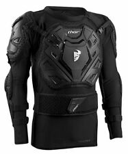 New S/M 2016 Thor Sentry XP Body Armour Motocross Enduro Black Pressure Suit