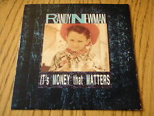 "RANDY NEWMAN - IT'S MONEY THAT MATTERS    7"" VINYL  PS"