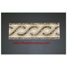 "Harmony - Honed Mosaic 4"" x12"" Tile  Bathroom Borders Kitchen"
