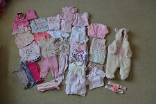 Baby Girl Clothes & Accessories Bundle Next M & S Gap 0-3 months Some NWOT