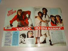 TV SORRISI CANZONI=1984/6=BOY GEORGE E MAMMA=ANGELA MOLINA=MARINA SUMA J. CALA '