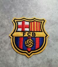 FCB FOOTBALL PATCH IRON ON APPLIQUE BADGE