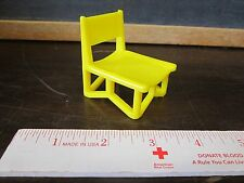Fisher Price Little People learn about town village apple tree yellow chair seat