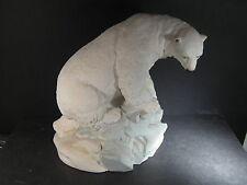 United Design Animal Creations POLAR BEAR ON ICE BERG #CC-227