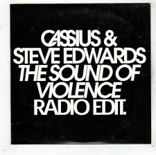 (FW932) Cassius & Steve Edwards, The Sound of Violence - 2002 DJ CD
