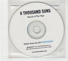 (GP667) A Thousand Suns, March Of The Pigs - DJ CD