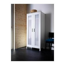 NEW IKEA ANEBODA Wardrobe Armoire White Closet Storage Bedroom Cabinet Clothes
