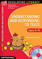 Understanding and Responding to Texts: Foe Ages 4-5 (100% New Developing Literac