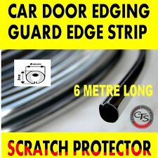 6m CHROME CAR DOOR GRILLS EDGE STRIP PROTECTOR HYUNDAI i20 MATRIX SANTA FE i30