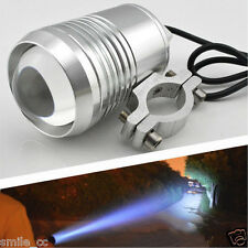 Motorcycle 12V 30W CREE U2 External LED Fog Spot Head Light Work Lamp Silver