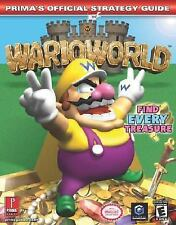 Wario World (Prima's Official Strategy Guide) by Stratton, Bryan, Stratton, Ste