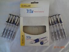 10x dollar 717i demonstrator transparent fountain pen EXTRA FREE PEN