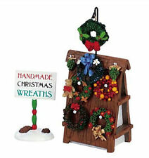 Lemax Decoration Wreath Display & Sign,Christmas Cake Decorating Garlands Figure