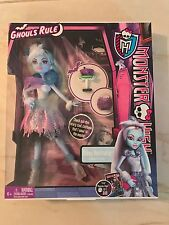 Monster High Abbey Bominable Doll Ghouls Rule Walmart Exclusive Complete NIB