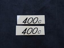 REDLINE DECALS 400c BMX STICKERS VINTAGE NOS FREESTYLE  HANDLEBAR
