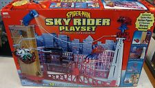 Spiderman Sky Rider Toy Biz Exclusive Playset New Sealed rare
