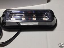 "New  "" DUO Color Changing 4 Led High Power LOT 10 R/B Warning Strobe"