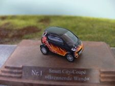 1/87 Busch Smart City-Coupe Brennende Wand Galerie Edition Nr. 1