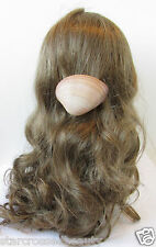 Real Sea Shell Barrette Hair Clip Mermaid Beach Nude Cream Vintage Boho 20s R66