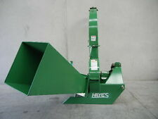 "HAYES PTO TRACTOR WOOD CHIPPER MULCHER 6"" CAPACITY - BX62S - 3 POINT LINKAGE"