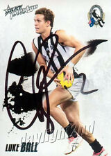 Signed 2010 COLLINGWOOD MAGPIES AFL Premiers Card LUKE BALL