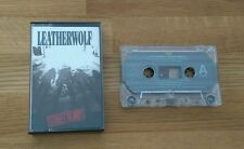 Leatherwolf Street Ready UK Inlay USA Cassette Album Island Heavy Metal Rock