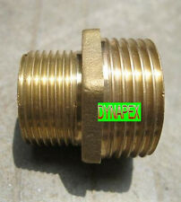 "1/4"" to 1/8"" Reducing Coupling Brass Pipe Fitting NPT adapter Male thread N-6R"