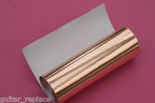 Cinta Adhesiva Cobre Apantallar Guitarra Copper Shield 50x10 cm. Humb Cancelling