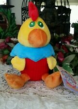 Sugar Loaf Cuties Chicken Plush Cupcake Claw Machine stuffed character toy NWT
