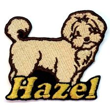 Iron-on Maltipoo Patch With Name Personalized Free