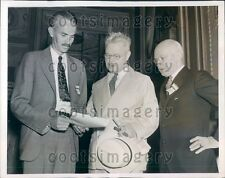 1937 Doctors at American Academy of Pediatrics Meeting Dr Washburn Press Photo