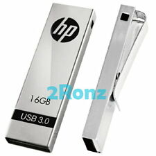 HP x710w 16GB 16G USB 3.0 Flash Drive Disk Thumb Stick Memory Clip Metal Sliver