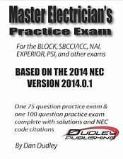 Master Electrician Practice Exam Based on 2014 NEC