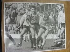 11/04/1987 Rugby Union Press Photo: County Final - Middlesex v Yorkshire - Yorks
