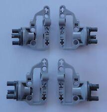 4 x Radhalter, Radaufhängung, Lenkung für LEGO Technic Fahrzeuge, 92908 + 92909
