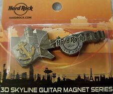 HARD ROCK HOTEL SAN DIEGO 3D SKYLINE GUITAR MAGNET SERIES - NEW