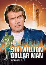 Six Million Dollar Man: Season 5 - 6 DISC SET (2014, REGION 1 DVD New)