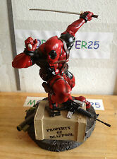 DEADPOOL STATUE 1026/2000 KOTOBUKIYA NEW MUTANTS MERCENARY WITH A MOUTH
