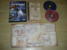 COMBAT FLIGHT SIMULATOR 3 Pc Cd Rom Sim Battle For Europe CFS CFS3