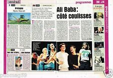 Coupure de Presse Clipping 2000 (2 pages) Comédie Musicale Ali baba