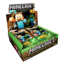 MINECRAFT Trading Card Game Sticker-Cards Collectible 6 Packs Only MOJAG JINX