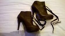 Autograph for M&S Leather ankle boots Size 7
