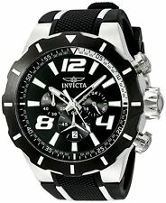 Invicta Men's 20106 S1 Rally Chronograph Japanese Quartz Black Watch