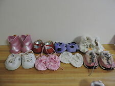 Build A Bear Shoe Lot 8 BABW Shoes Skechers, Tennis, Dorothy Red Slippers, etc