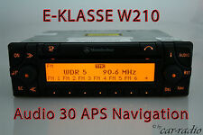 Mercedes Navigationssystem E-Klasse W210 S210 Audio 30 APS Original Navi Radio