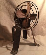 Vintage Fan Electric City Bus metal Cage Industrial Transportation PRIORITY MAIL