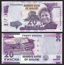 Malawi 20 KWACHA 2012 P 57 UNC