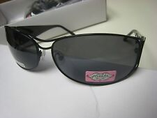 PHOEBE COUTURE Polarized Sunglasses-Women's #P406-BLACK -NWT-63-14-120  frame sz