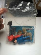 Rare Vintage PLAYMOBIL Travaux Pompier ? Playmo Space 2 Catalogue 1983